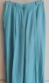 Vintage Turquoise Pants