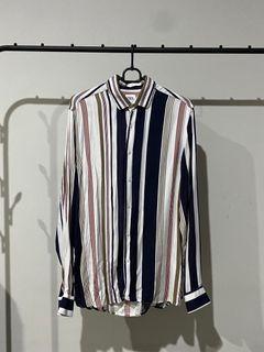 Zara Blue Striped