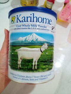 37% off! 2 tins of Karihome authentic goat milk worth in total $46!