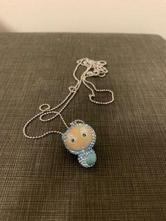 施華洛世奇水晶項鍊 藍色 Erika 真品