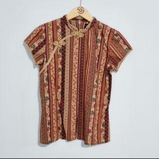 Batik Top Cheongsam