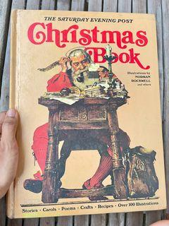 The Saturday Evening Post Christmas Book (charming illustration gorgeous vintage children's art book hardcover)