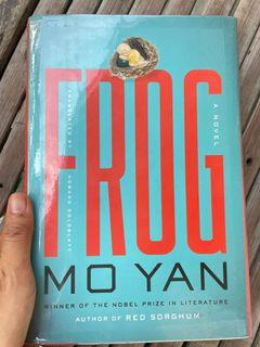 Frog by Mo Yan  (hardcover)