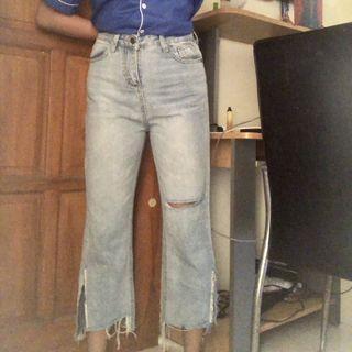 highwaist jeans baggy moms jeans
