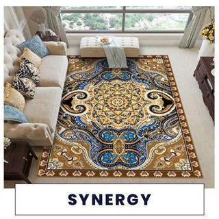 Karpet lantai maroc ukuran 100x150cm