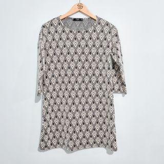 Mango Dress Black & White - 99% New