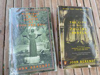 Midnight in the Garden and The City of Falling Angels by John Berendt book bundle
