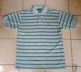 Polo Fred Perry Stripe baby blue