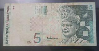 Rm5 AAH center VF +   Rust & stain