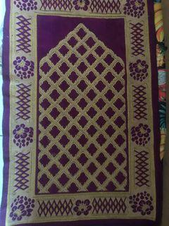 sajadah turki purple