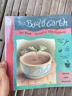 This Bowl Of Earth by Jan Mark, Gay Shephard (gorgeous art book watercolor color pencil illustration)