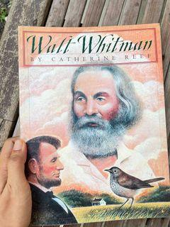 Walt Whitman by Catherine Reef (paperback biography)