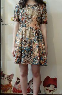 日式古典洋裝