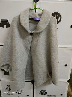 灰色披風外套!!