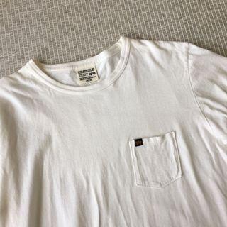 日本購入 | Alpha Industries Inc. | 質感 白色 簡約 口袋 棉質 純棉 短袖 素T 棉T 上衣