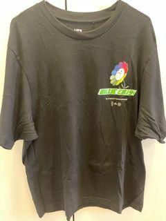 村上隆 MURAKAMI TAKASHI  x BIlLIE Billie  聯名黑色T恤