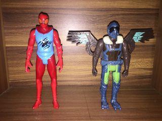 Action Figure Spiderman dan Vulture