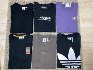 Adidas 短袖上衣 單一價500-600