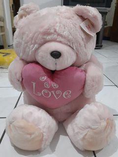 Boneka Beruang Pink Bear Forever Friends