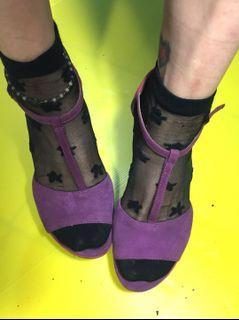 Clark's wadges shoes