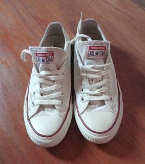 Converse Low White All Star Uk 37