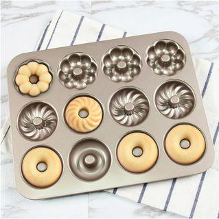Donut Pan 12 Cavities Type B