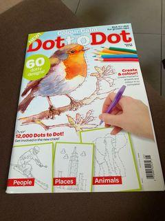 Dot to Dot activity book for adults