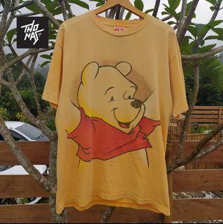 Kaos Vintage Winnie The Pooh Disney Big Print L