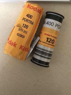 KODAK PORTRA 400 ISO 120 Colour Film