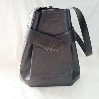 Louis Vuitton LV Black Epi Leather Sac De Paul Shoulder Bag
