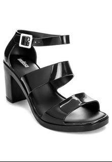 MELISSA Model Ad Block Heeled Sandals USA 6, 23.5cm (Exclusive Edition of Melissa's 40th Birthday)