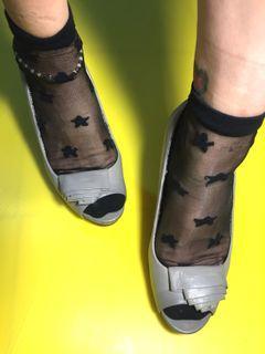 Nine west grey shoes