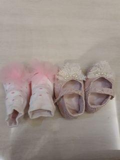 sepatu bayi pink baby girl