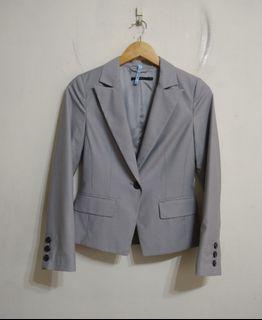 Theme 灰色西裝外套