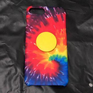 Tie-dye iPhone 7+ case