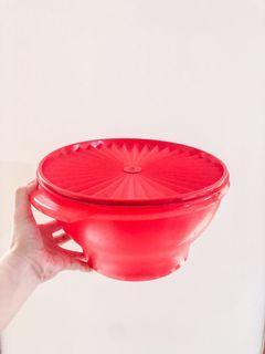 Tupperware Mixing Bowl Merah