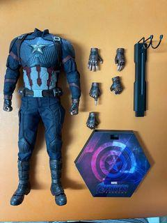 WTS hot toys endgame captain America body