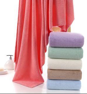 日式純棉毛巾浴巾洗澡巾