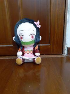 禰豆子坐姿布偶