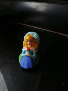 日本 迪士尼 Disney 睡公主 sleeping beauty figure 擺設