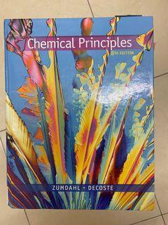 普通化學 chemical principles 8th