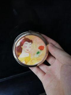 日本 Disney 迪士尼 美女與野獸 貝兒 beauty and the beast 化妝鏡