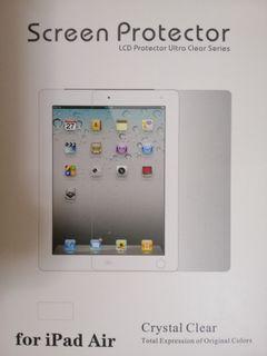 全新 iPad Air 1 / 2 透明軟保護貼