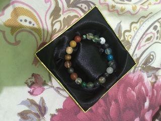 Authentic stones bracelet