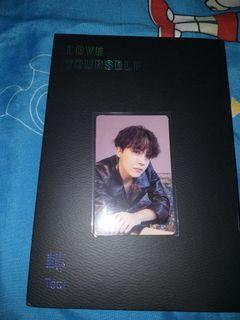 [Unsealed] Album love yourself tear O photocard Jhope