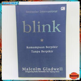 Buku Self improvement Original By Malcom Gladwell   Blink Kemampuan Berpikir Tanpa Berpikir