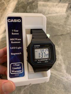 Casio復古電子錶(網紅穿搭必備,孤僻、吉豐重工,工業風必備!