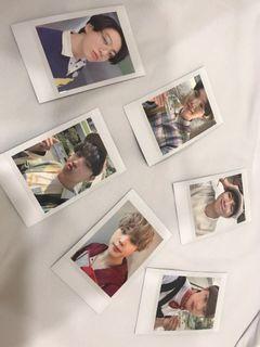 Foto Polaroid BTS SG2021 ORI
