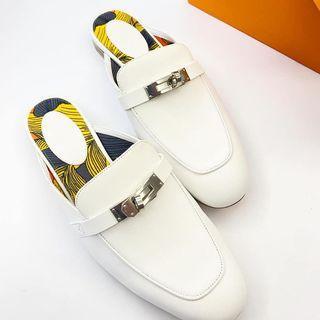 Hermes Kelly 經典穆勒鞋