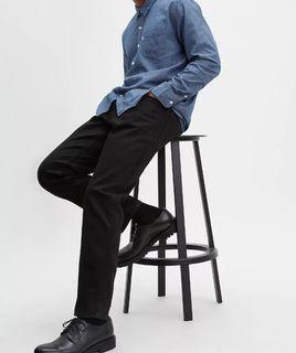 【現貨】Levi's 541 彈性美式經典黑色 男生休閒直筒 牛仔褲 長褲 工作褲 零碼出清